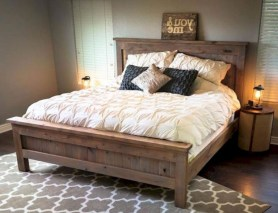 48+ beautiful Farmhouse Style Master Bedroom Ideas 40