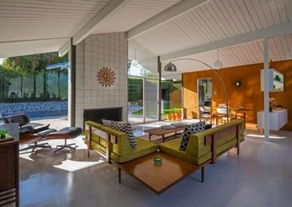 52+ Amazing Mid Century Living Room Decor Ideas 19