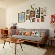 52+ Amazing Mid Century Living Room Decor Ideas 27