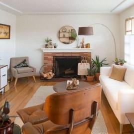 52+ Amazing Mid Century Living Room Decor Ideas 39