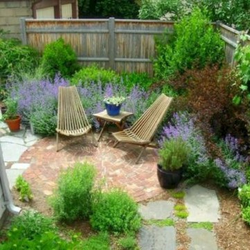 63+ Best Small Backyard Landscaping Ideas 16