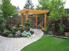 63+ Best Small Backyard Landscaping Ideas 27