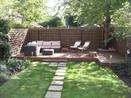 63+ Best Small Backyard Landscaping Ideas 49