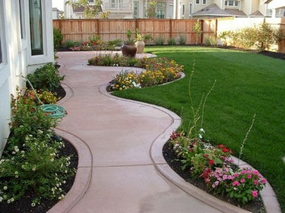 63+ Best Small Backyard Landscaping Ideas 53