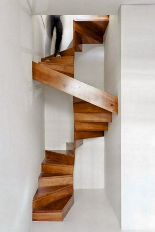 17+ Cool Stairs Design Ideas For Small Space (16)