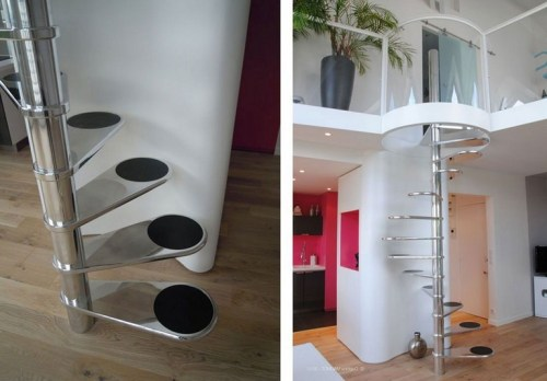 20+ Cool Stairs Design Ideas For Small Space (21)