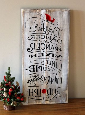 23+ Cool DIY Crafts Wooden Christmas Ideas (20)