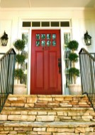 25+ Awesome Farmhouse Exterior Front Door Ideas (12)