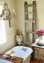 25+ Beautiful Shabby Chic Romantic Bathroom Ideas (7)