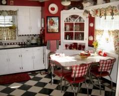 36+ Stunning Design Vintage Kitchens Ideas Remodel (10)