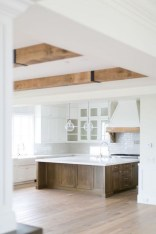 50+ Amazing Modern Farmhouse Kitchen Cabinets Decor Ideas 14