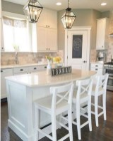 50+ Amazing Modern Farmhouse Kitchen Cabinets Decor Ideas 21