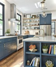 50+ Amazing Modern Farmhouse Kitchen Cabinets Decor Ideas 35