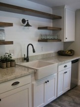 50+ Amazing Modern Farmhouse Kitchen Cabinets Decor Ideas 36