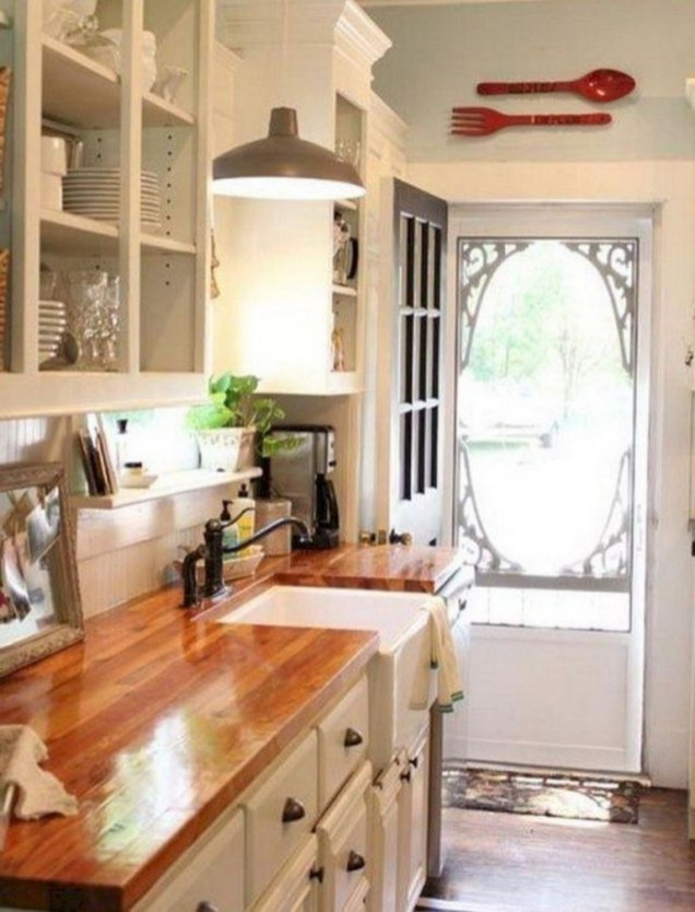 50+ Amazing Modern Farmhouse Kitchen Cabinets Decor Ideas 55