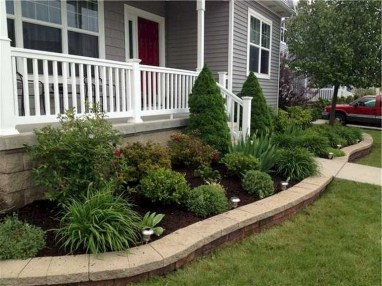 58+ Beautiful Low Maintenance Front Yard Landscaping Ideas (6)