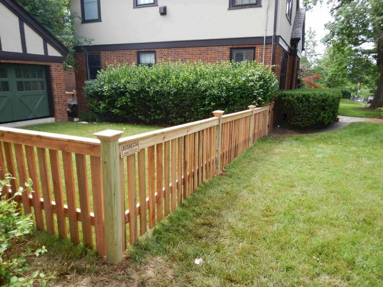 63+ Inspiring DIY Front Yard Privacy Fence Remodel Ideas ... on Front Yard Renovation Ideas id=25309