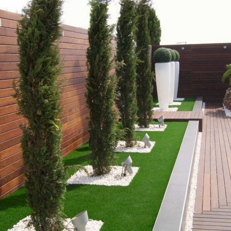 63+ Inspiring DIY Front Yard Privacy Fence Remodel Ideas ... on Front Yard Renovation Ideas id=35196