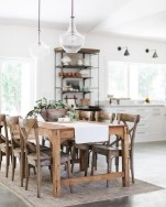 75+ Rustic Farmhouse Style Kitchen Makeover Ideas 11