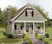 22+ Exciting Tiny Cottages Design Ideas for Cozy Outdoor Living (13)