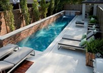 33+ Wonderful Small Backyard Ideas With Swimming Pool Design (12)