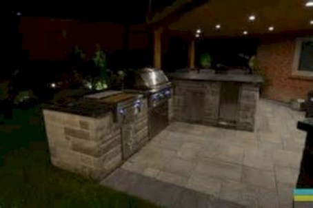 45+ Awesome Cooking With Amazing Outdoor Kitchen Ideas (1)