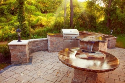 45+ Awesome Cooking With Amazing Outdoor Kitchen Ideas (14)