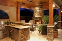 45+ Awesome Cooking With Amazing Outdoor Kitchen Ideas (15)