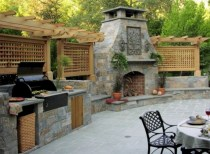 45+ Awesome Cooking With Amazing Outdoor Kitchen Ideas (18)
