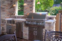 45+ Awesome Cooking With Amazing Outdoor Kitchen Ideas (26)