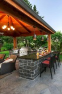45+ Awesome Cooking With Amazing Outdoor Kitchen Ideas (43)