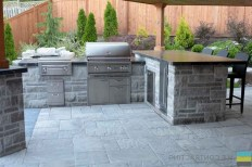 45+ Awesome Cooking With Amazing Outdoor Kitchen Ideas (8)