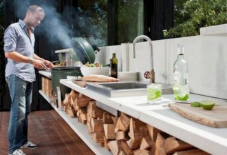 48+ Marvelous Outdoor Kitchen Ideas (27)