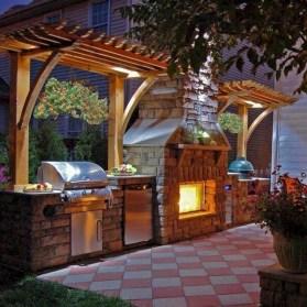 48+ Marvelous Outdoor Kitchen Ideas (40)