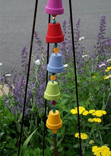 53+ Beautiful DIY Outdoor Garden Crafts Ideas to Make Your Garden More Beautiful (29)