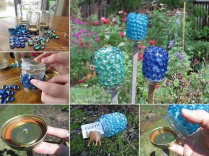 53+ Beautiful DIY Outdoor Garden Crafts Ideas to Make Your Garden More Beautiful (33)