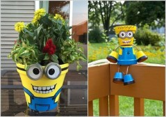 53+ Beautiful DIY Outdoor Garden Crafts Ideas to Make Your Garden More Beautiful (44)