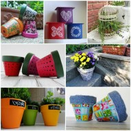 53+ Beautiful DIY Outdoor Garden Crafts Ideas to Make Your Garden More Beautiful (9)