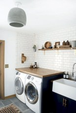55+ Inspiring Simple and Awesome Laundry Room Ideas (36)
