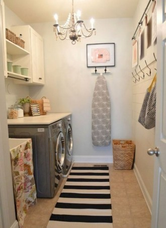 55+ Inspiring Simple and Awesome Laundry Room Ideas (54)