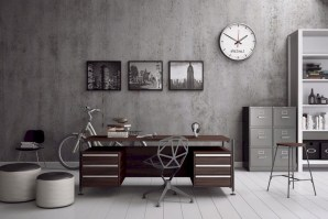 56+ Stunning Moody Mid Century Home Office Decor Ideas (2)