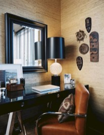 56+ Stunning Moody Mid Century Home Office Decor Ideas (42)