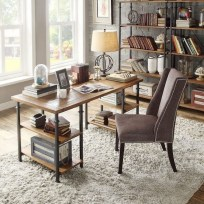 56+ Stunning Moody Mid Century Home Office Decor Ideas (49)