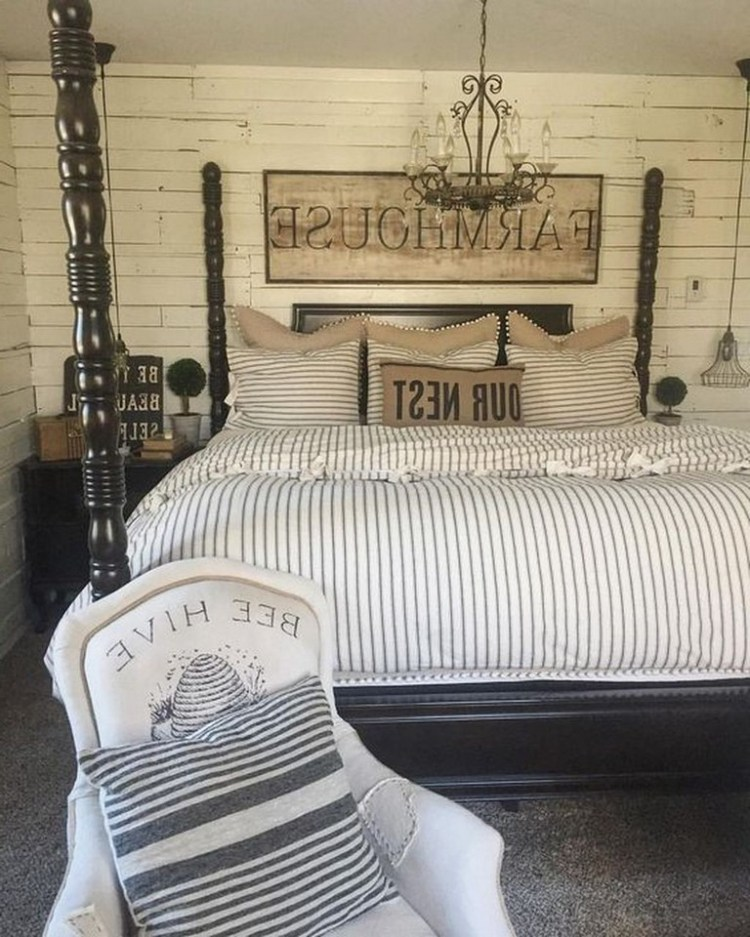 58 Rural Farmhouse Style Bedroom Decorating Ideas 50 Inspiredetail Com