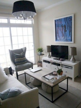 78+ Cool First Apartment Decorating Ideas on A Budget (71)