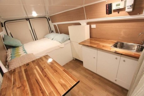 82+ Inspiring RV Camper Van Interior Design and Organization Ideas (14)