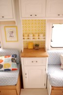82+ Inspiring RV Camper Van Interior Design and Organization Ideas (18)