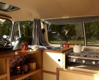 82+ Inspiring RV Camper Van Interior Design and Organization Ideas (31)
