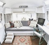 82+ Inspiring RV Camper Van Interior Design and Organization Ideas (68)