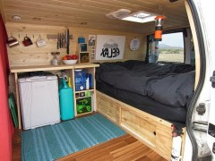 82+ Inspiring RV Camper Van Interior Design and Organization Ideas (71)